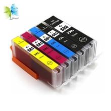 Winnerjet 5 Sets Compatible PGI-680 XXL CLI-681XXL Ink Cartridges for Canon PIXMA TR7560 TR8560 TS6160 Printers
