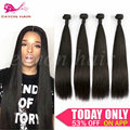 Unprocessed 4 Bundles Brazilian Virgin Hair Straight 100% Human Hair Weft Eayon Hair Products 9A Brazilian Hair Weave Bundles