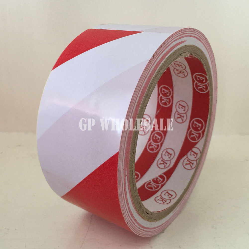 Color Choose, (45mm*18M) Adhesive PVC Floor Warning Tape Cinta Work Area Caution Tape, Ground Attention, Location Remark Band multi color 1 roll 20m marking tape 100mm adhesive tape warning marker pvc tape
