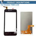 Top quality Black Touch Screen Digitizer Glass Sensor+LCD Display Panel Screen For Huawei Y560 Assembly Replacements