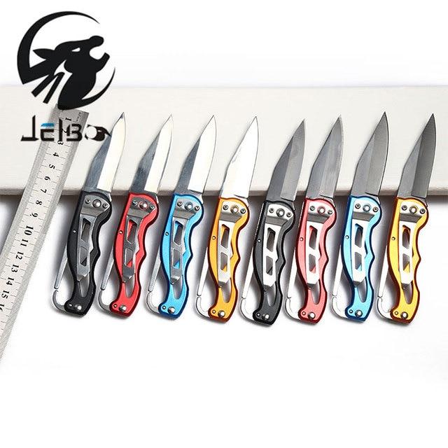 Jelbo  Key Ring Mini Knife Hand Tools Pocket Knife Folding Knife Hand Tools Hunting Camping Tactical Rescue Tool New Arrival