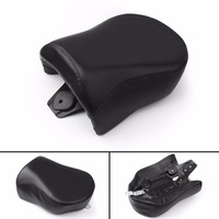 Areyourshop Motorcycle Rear Passenger Pillion Seat For Harley Dyna FXD FXDL 2006 2009 Black Motor Fashion