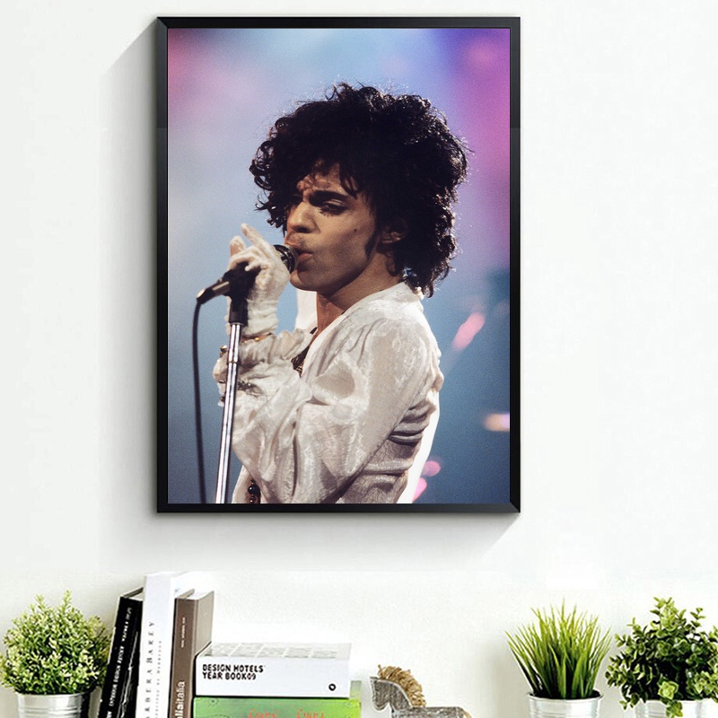 Prince Rogers Nelson Art Poster Print Home Decor