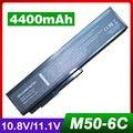 4400 mah bateria do portátil para asus 15g10n373800 70-ned1b1000z 90-ned1b1000y l062066 a32-m50 g50 g50e g50g g50t g50v g50vt g51 g51j