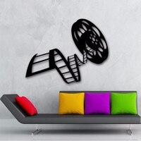 Film Film Vinyle Sticker Bobine De Film Cinéma Film Décor pour Salon Art Mural Autocollant Film Studio Chambre Décoration