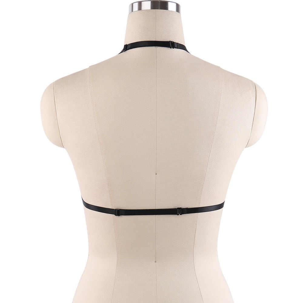 a69d3e4ac ... Women Gothic Handmade Lace harness Bondage Harness Fetish body cage  Rave Bra Harajuku Body Harness Sexy ...