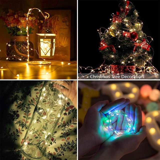 Led Fairy Lights Christmas Decoration