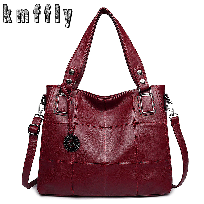 Cool Fashion 2017 Women Bag Large Luxury PU Leather Women Bags Designer Handbags High Quality Ladies ...