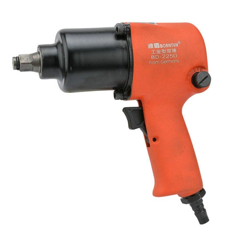 1/2 Double-hammer Pneumatic Air Impact Wrench Industrial Two-hammer 12.7mm Car Repairing Maintenance Tyre Repair Pneumatic Tool hammer lzk550l