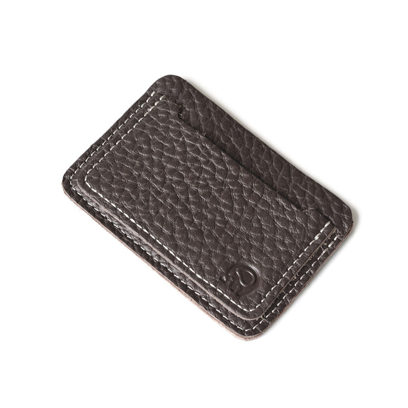 Genuine leather card holders mini card bags