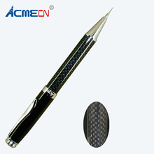 Acmecn Branded 0.7mm Carbon Fiber Mechanical Pencil 33g Brass Automatic Twist action Unique PenFactoryStationeryAccessory