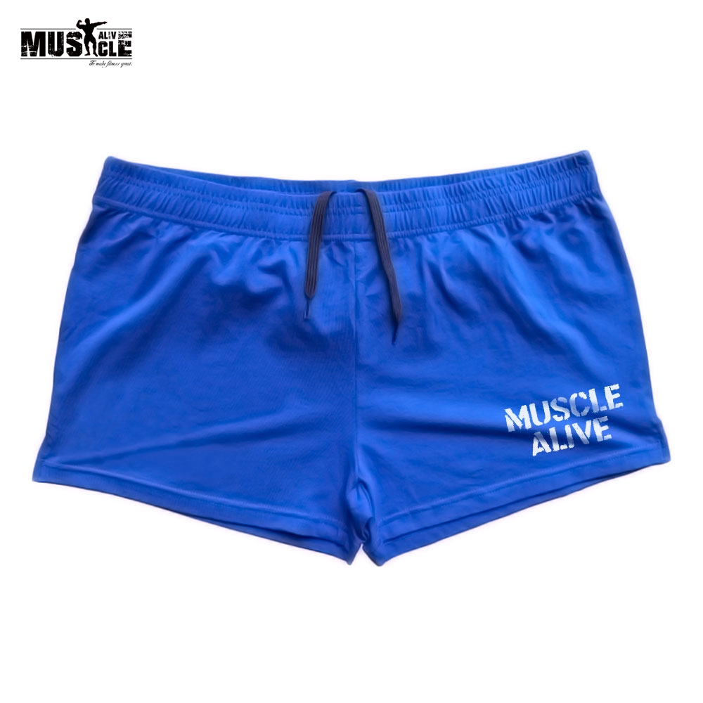 CLOTHING BODYBUILDING SPORTSWEAR Short-Pants TRAINING MEN FOR MAN JOGGING Muscle-Alive