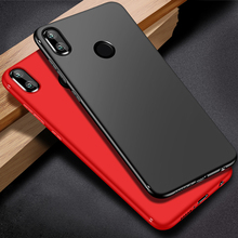 Case for Xiaomi Mi A2 Lite case Ultra Thin Soft matte TPU cover frosted Shockproof bumper on Redmi 6 Pro