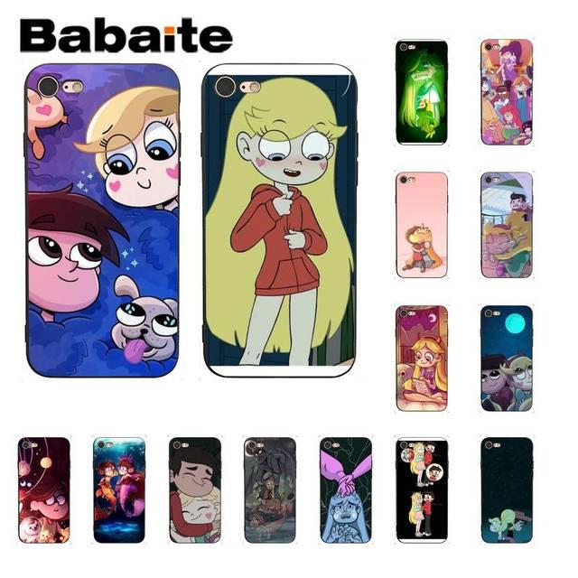 Babaite Mabel Trọng Lực Rơi Truyện Tranh Khách Hàng Chất Lượng Cao Trường Hợp Điện Thoại cho iPhone 8 7 6 6 s Cộng Với X XS MAX 5 5 s SE XR 10 Bìa