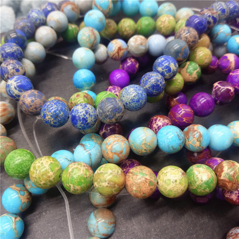 Brazilian Natural Stone : Real natural stone beads wholesale mm