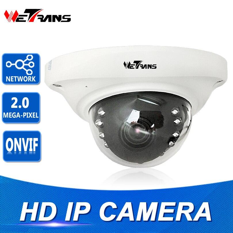 Caméra IP P2P anti-vandalisme Onvif2.4 3.6mm objectif fixe HD IR 1080 P H265 4MP intérieur 8 m Vision nocturne caméra de sécurité caméra dôme IP