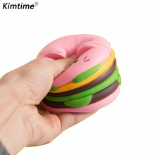 Hamburger unicorn Squishy slime to release pressure kids toys gift funny animals toys for children