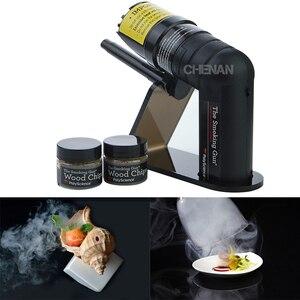Image 3 - Smoking Gun Handheld Food Smoker French Molecular  Tool Molecule Cocktail Special Tools Smoke   Device Bar Set