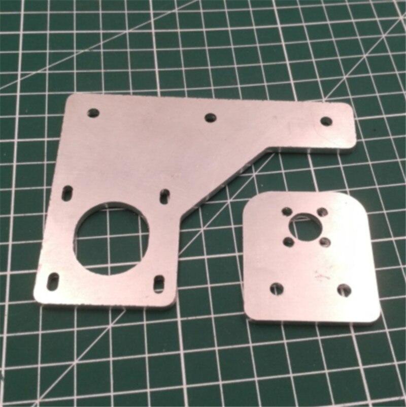1 unids de aluminio dual Dual eje Z actualización Kit Placa de etiqueta/HE3D tarántula 3D piezas de la impresora de 3mm de espesor