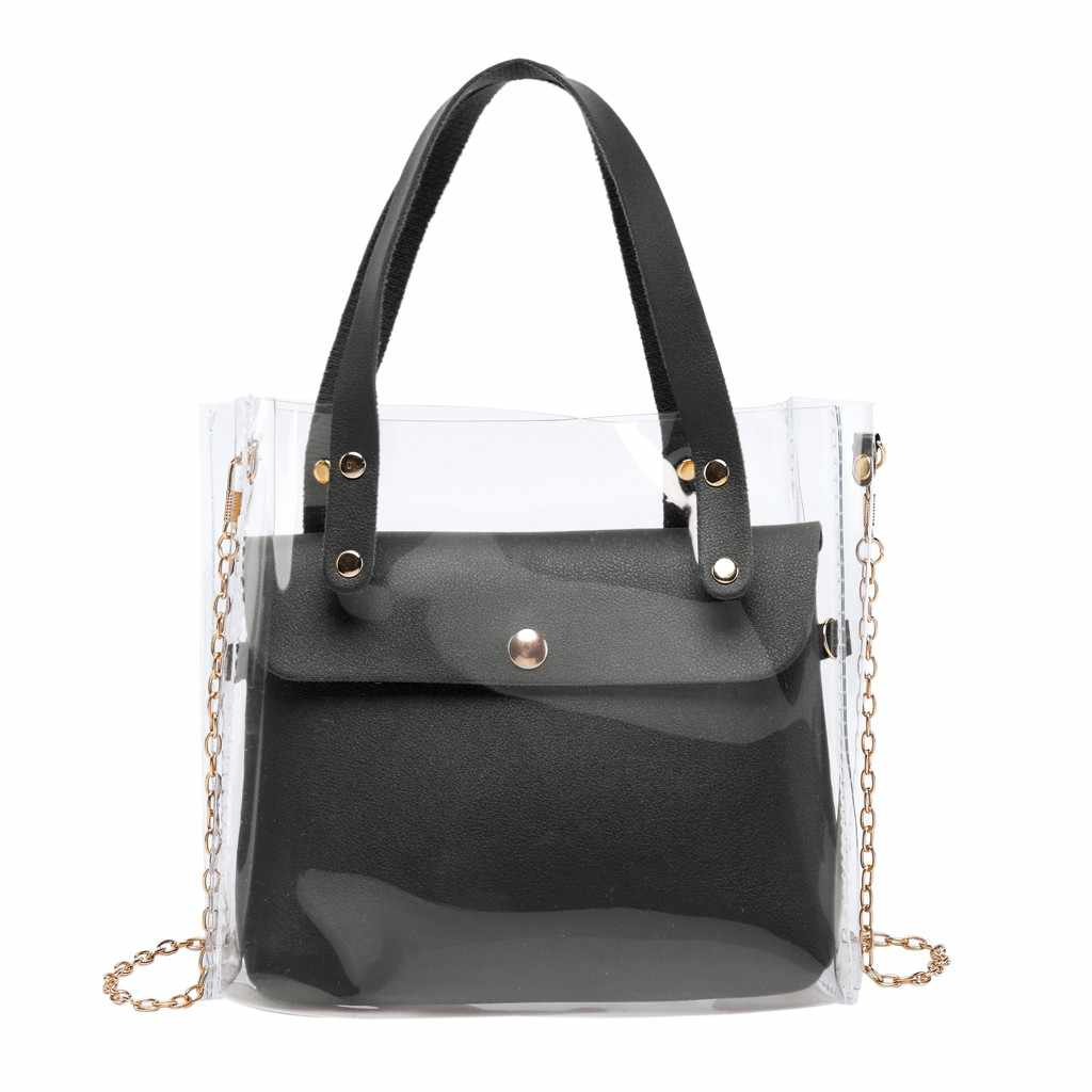 Fashion Lady Schouders Jelly Pakket Handtas Portemonnee Mobiele Telefoon Messenger Bag Lady Reizen Portemonnees en Handtassen Cross Body Bag