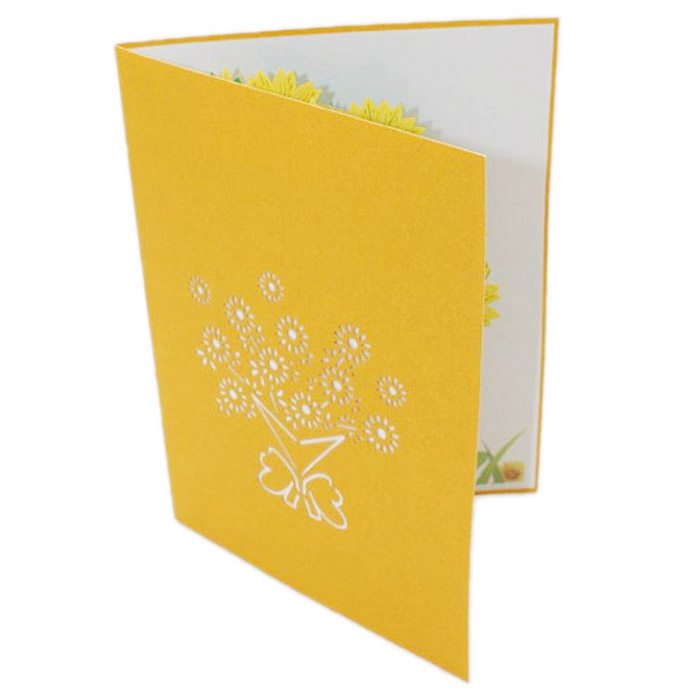 Perfect-3D Pop Up Cards Valentine Birthday Anniversary gift Greeting Cards postcard (#C)
