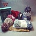 Hot Sales Knitted Hat Women Winter Hat For Women Hat Fashion Warm Skullies Beanies Cap Gorros Femme Bonnet Lover Hat