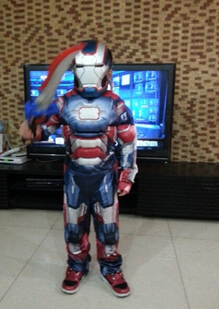 Iron Man Costume for Carnival 73