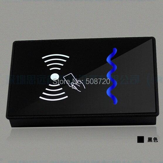 New Waterproof Security Door Black 125KHZ ID Wiegand 26 RFID Card Reader id card 125khz rfid reader