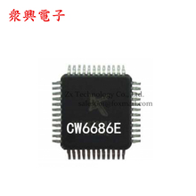 CW6686E chip de Bluetooth IC Low-Power Stereo fone de ouvido Bluetooth Original Novo