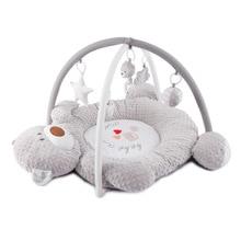 Музыкальный медведь, детское одеяло, тканевая стойка для фитнеса, игровой коврик для ползания, развивающие игрушки для детей 0-12 Months1-2Years