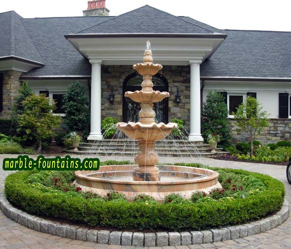 Tired Outdoor Fountains Stunning Waterfall 3 Tiered Outdoor Fountain For  Villa 2016 Tiered Fountains Decorate Circle