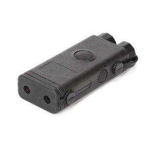PRO-LAS-PEQ10 táctico láser rojo Tacitcal y luz LED para rifle alcance negro/DE