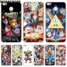Здесь можно купить  WEBBEDEPP Cartoon Gravity Falls Anime Hard Cover Case for Redmi 4 4A 4X 3S 3 Pro Note 4 4X 3 2 for Xiaomi Mi 5 5S Plus 6
