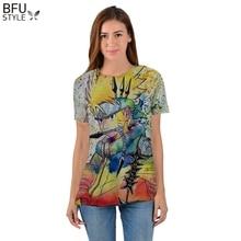Colorful sleeveless Naruto t-shirt