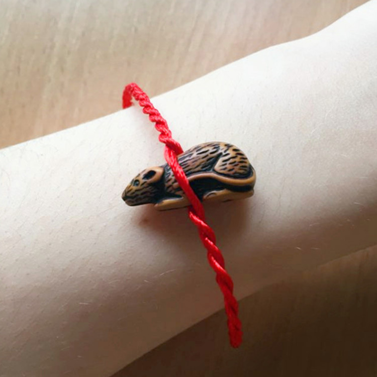 Aliexpress Com Red Rope Animal Bracelet Twelve Chinese Zodiac Signs Fish Dog Horse Sheep Ox Snake Mouse Tiger Monkey Rabbit From Reliable