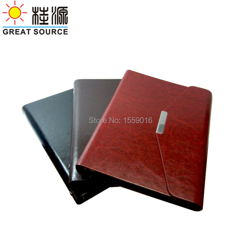 Binder Conference Folder Clear Pen Bag Color Stickers Soft Ruler DIY Photo Album Folder For A5 Notepad Notebook 6 Rings Binder