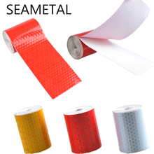 5cmx300cm Car Styling Reflective Tape Adhesive 3m Stickers Decal Decoration Film Safety Baby Motorcycle Stickers on Car-Styling