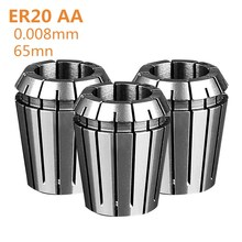 1PCS ER20 AA 3mm-10mm high precision chuck ER16 elastic clamp CNC0.008 machining center engraving machine nozzle
