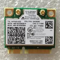 Intel Dual Band Wireless 7260AC 7260HMW 802 11b G N Ac BT4 0 Card For Lenovo