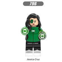 Single Sale Super Heroes Star Wars 796 Jessica Cruz Mini Building Blocks Figure Bricks Toys kids gifts Compatible Legoed Ninjaed(China)