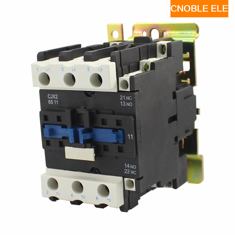 Motor Starter Relay CJX2-5011 contactor AC 220V 380V 50A silver point Voltage optional LC1-D