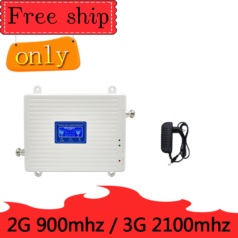 TFX-BOOSTER GSM 2G 900 WCDMA 3g 2100 MHZ répéteur bande de téléphone portable 1 bande 8 gsm 900 MHZ 2100 MHZ UMTS booster de signal