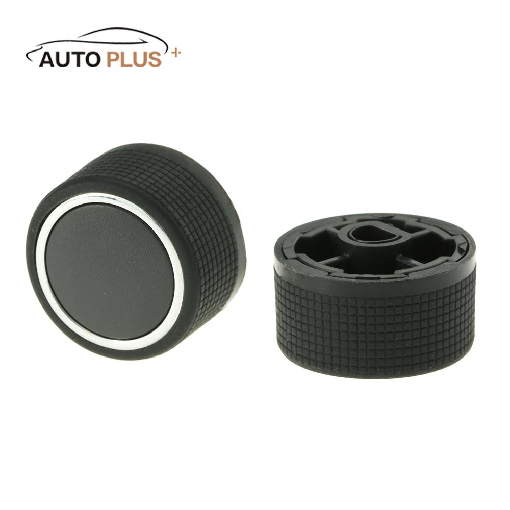 Ancher 2Pcs Audio Radio Rear Control Knobs Air Conditioning Button fit for Chevrolet GMC