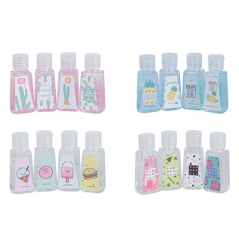 Disposable Liquid Soap Lotion Portable Hand Sanitizer No Clean Detergent Cartoon