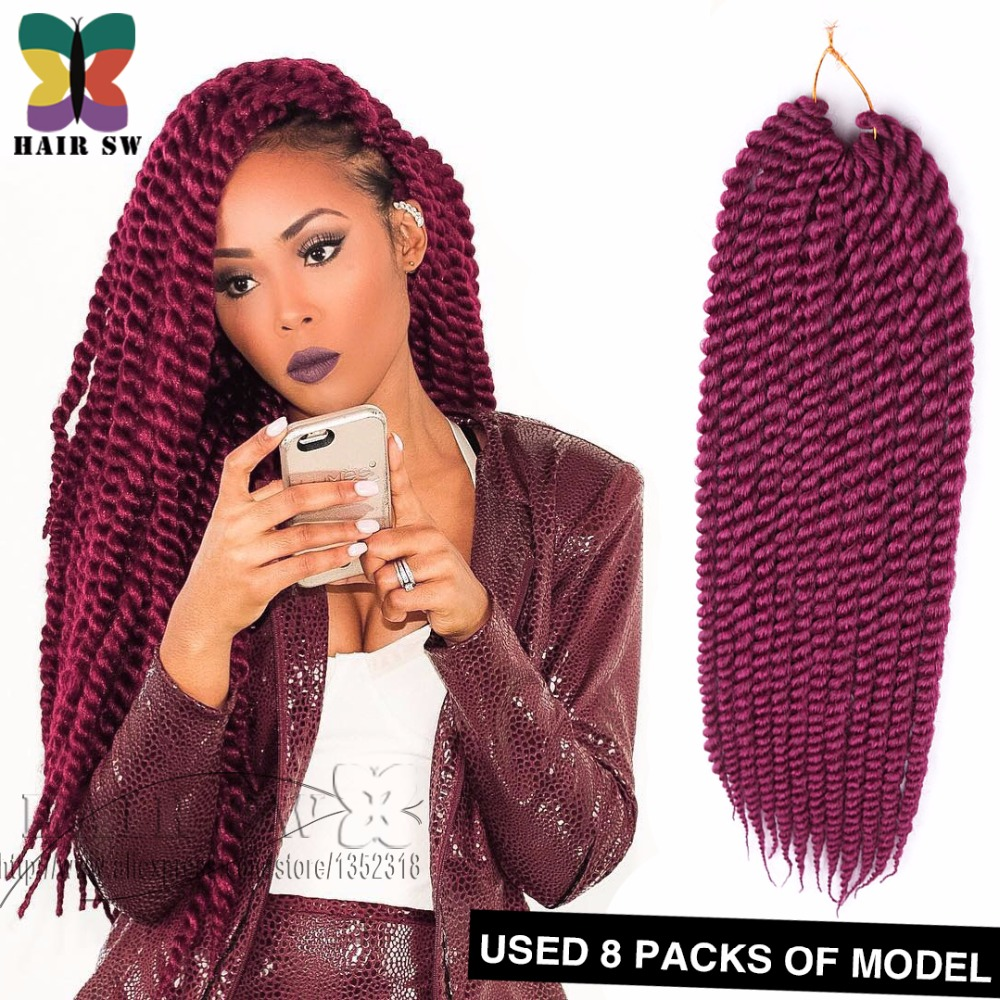 Twist Rope Synthetic Crochet Braid HAVANA TWIST 22 Natural Hair ...