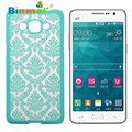 Binmer Hot selling Damask Vintage Pattern Hard Case Cover For Samsung Galaxy Grand Prime G530H G5308 1pcs