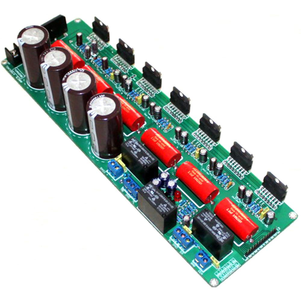 TDA7293 5.1 Canais 4*50 V 10000 UF 5*80 W + 160 W Traseiro Puro Fase Aamplifier placa YJ00229
