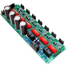 TDA7293 5.1 Channel 4*50V 10000UF 5*80W+160W Pure Rear Stage Aamplifier Board YJ00229