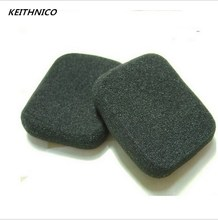 1 Pair 5*4cm New Soft Foam Ear pads Earbuds Headsets Headphone Replacement Sponge Covers For MP3 MP4 FROM Earphone H086