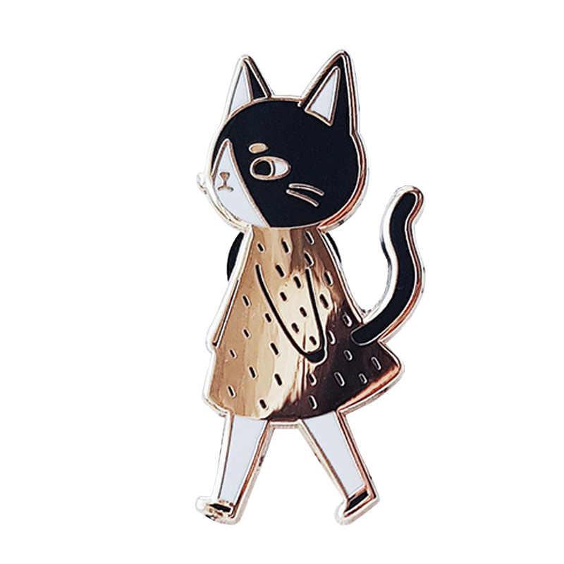 고양이 에나멜 핀